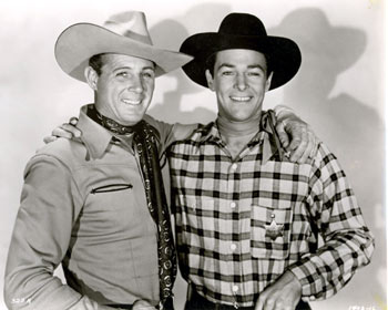 "Robert Livingston and Steven Barclay played brothers Johnny and Kenny Revere in Republic's ""Pride of the Plains"" ('44)."