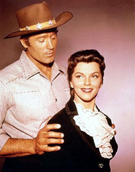 "Clint Walker and Lisa Gaye. Lisa guested on two episodes of ""Cheyenne"" in 1960. ""Outcasts of Cripple Creek"" and ""Counterfeit Gun""."