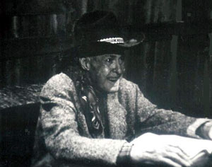 "Ken Maynard as a Texas Ranger in ""Marshal of Windy Hollow""."
