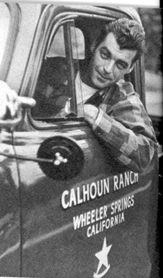 Cars of the Stars: Doesn't compare with some of the above, but Rory Calhoun likes it for getting around his ranch.