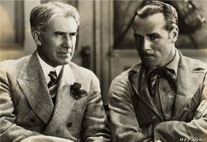 ack Holt with renown western writer Zane Grey. Holt starred in many silent film adaptations of Grey's novels.