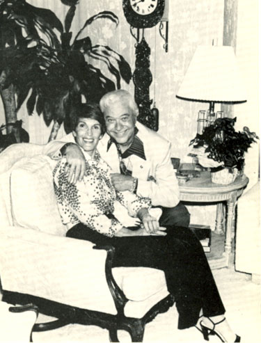 Joanne and Monte Hale in the '80s.