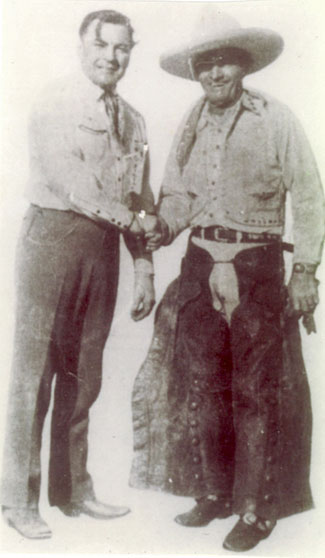 In the late '20s Buck Jones and Tom Mix were two of the top western stars.