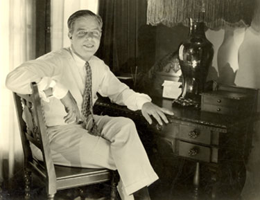 Hoot Gibson at home circa early '30s.