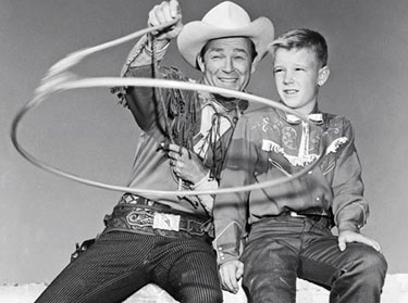Roy with son Dusty.