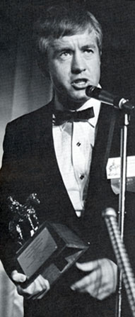 "Clu Gulager, Ryker on ""The Virginian"", was at the Cowboy Hall of Fame to help except a Best Fictional Television Program Award for ""The Virginian"" in 1966."