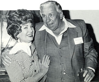 Mrs. Hoot Gibson (Dorothy Irene Gibson) accepted a postumous award for her husband who was elected to the Hall of Great Western Performers at the Cowboy Hall of Fame in 1979. Hoot died in 1962. Slim Pickens was Master of Ceremonies at the Awards that year. Dorothy died at 94 December 2, 2014.