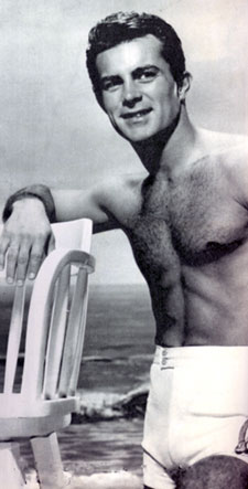 "Some beefcake for the gals! Robert ""Wild Wild West"" Conrad."