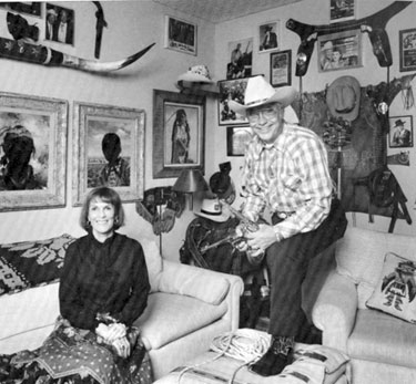 Monte and Joanne Hale at home in 1984.