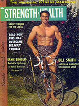 "William ""Laredo"" Smith on the cover of STRENGTH & HEALTH circa 1983."