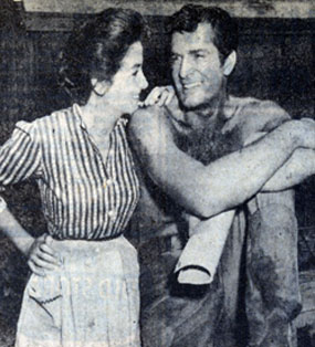 "Before ""High Chaparral"" Linda Cristal co-starred with Hugh O'Brian in 1958's ""The Fiend Who Walked the West""."