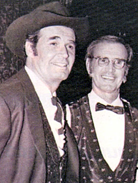 "James ""Maverick"" Garner with his brother Jack Edward Garner. Jack appeared in more than 60 episodes of the ""Rockford Files"" as well as small parts on ""Daniel Boone"", ""Gunsmoke"", ""Bret Maverick"" and ""Maverick"". Jack was a former minor league baseball player for the Pittsburgh Pirates and one-time singer in the house band at the Coconut Grove in L.A."
