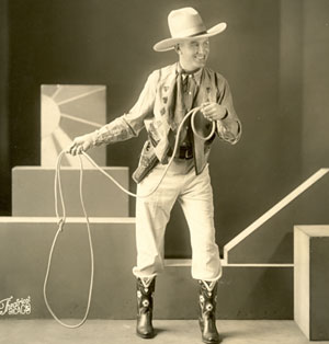 A rare early glimpse of Gene Autry during his days at WLS Radio in Chicago.