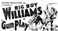 "Newspaper ad for ""Gun Play""."
