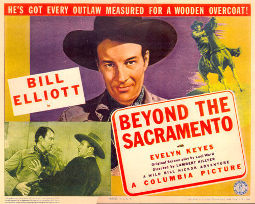 "Title card for ""Beyond the Sacramento""."