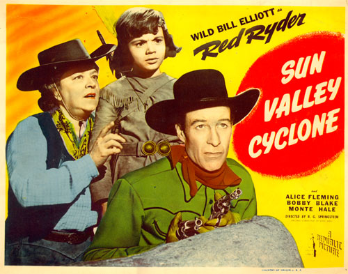 "Title Card for ""Sun Valley Cyclone""."