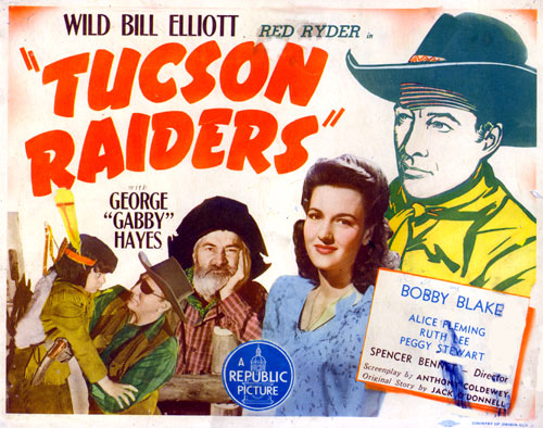 "Title Card for ""Tucson Raiders""."
