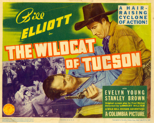 "Title card for ""The Wildcat of Tucson""."