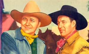 Tex Ritter and Bill Elliott.