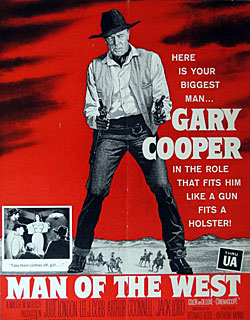 "Gary Cooper in ""Man of the West""."