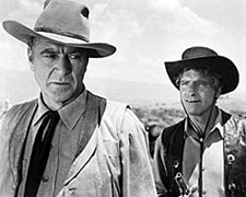 "Gary Cooper and Burt Lancaster in ""Vera Cruz""."