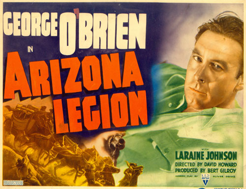 "Title card for O'Biren's ""Arizona Legion""."