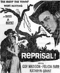 "Newspaper ad for ""Reprisal!"""