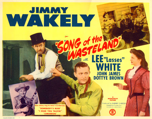 "Title Card for ""Song of the Wasteland""."